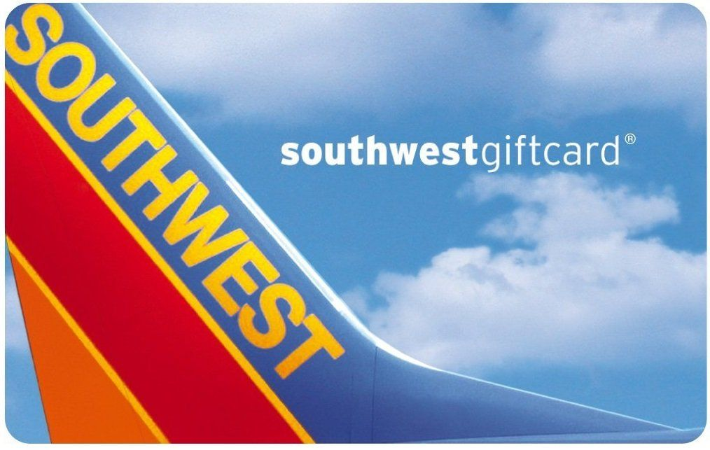 southwest airlines gift card balance photo - 1