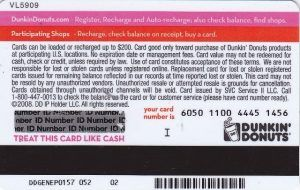 transfer dunkin donuts gift card balance photo - 1