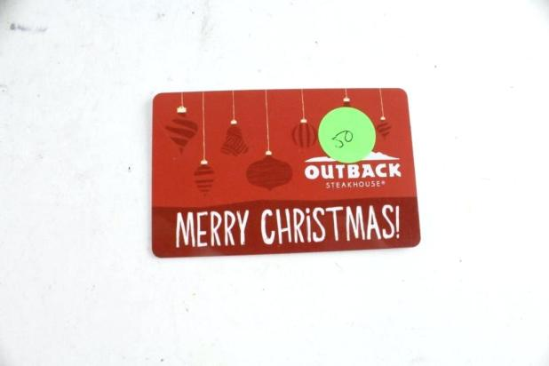 where can i use my outback gift card photo - 1