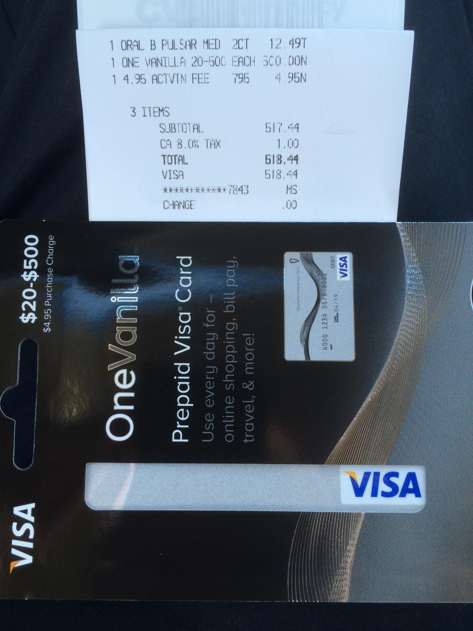 check visa debit gift card balance 1