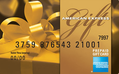 american express gift card cash back 1