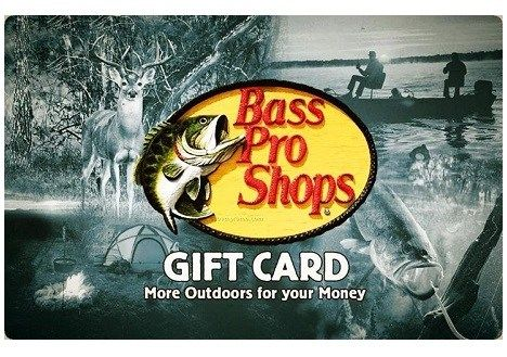 can i use a cabela gift card at bass pro 1