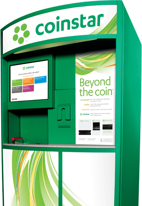 coinstar gift card exchange fee 1