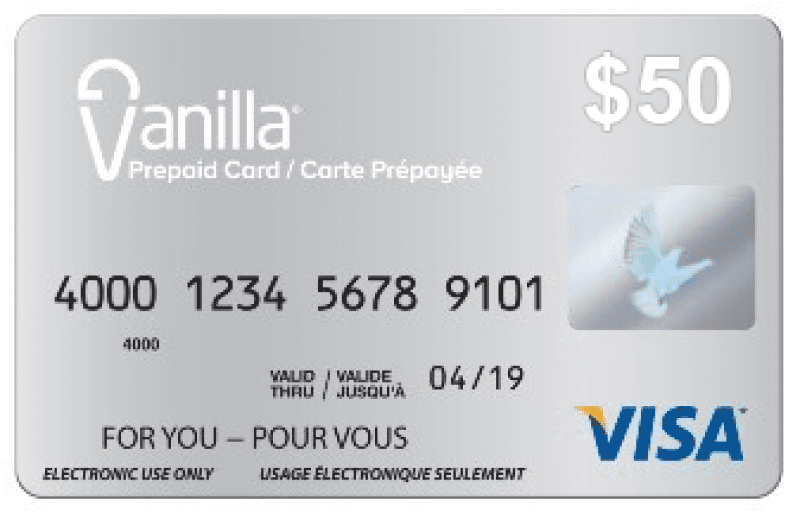 vanilla gift card phone number 1