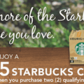 Starbucks gift card cash out 1