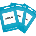 can you use a gift card for Uber 1