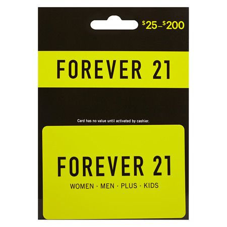 forever 21 gift card Walgreens 1