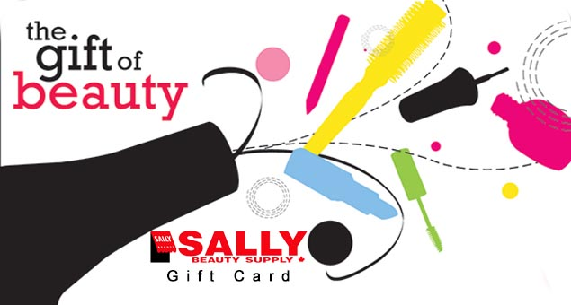 Sally beauty gift card
