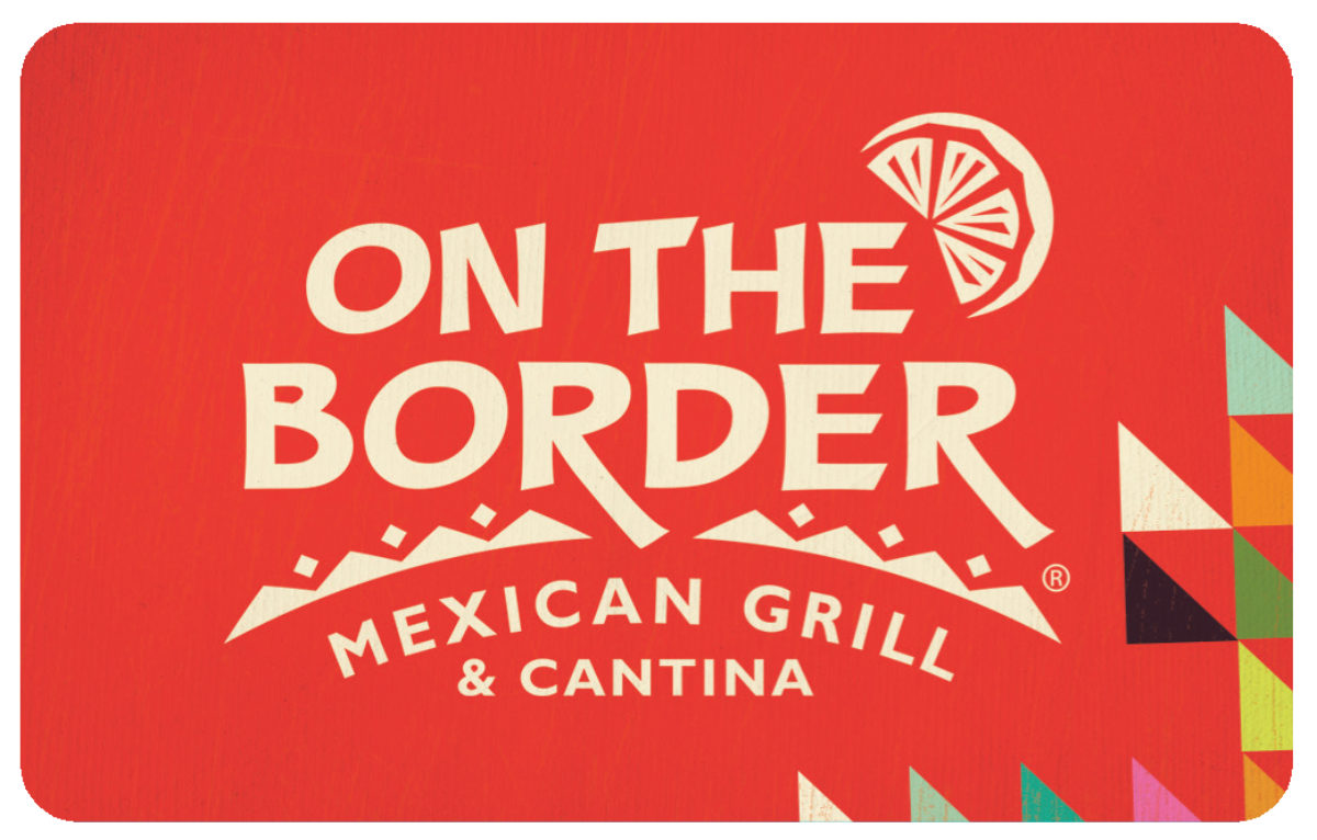 On the border gift card balance