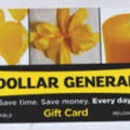 Dollar general gift card codes