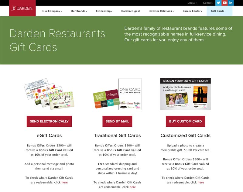 www darden com gift card balance photo - 1